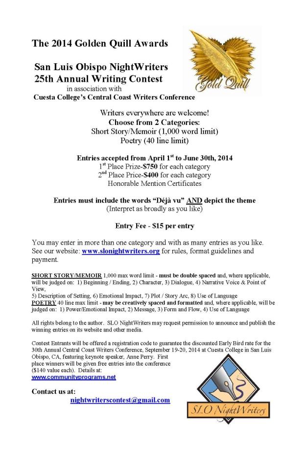 Contest Flier half 2014